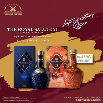 The Royal Salute 21 Years Polo Estancia Edition Set